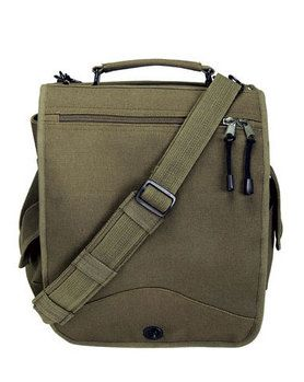 Army Military Messenger Heavyweight Field Canvas Shoulder Laptop Bag Bags