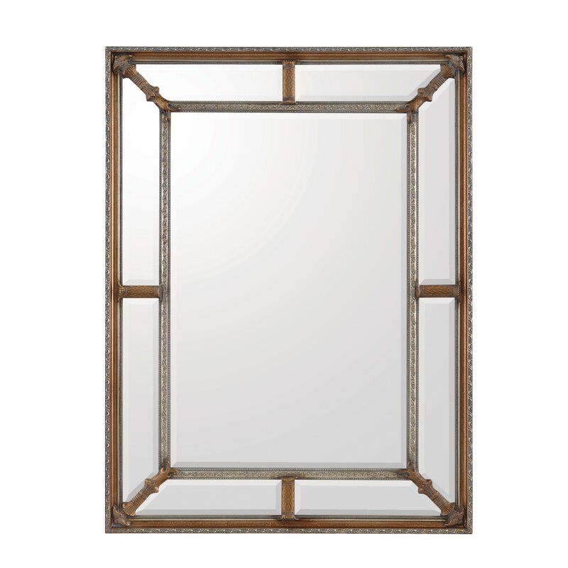 John Richard Richland Traditional Distressed Accent Mirror Perigold Accent Mirrors Mirror Wall Mirror