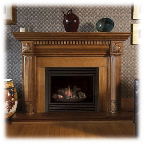 Majestic Cdvt36psc7 36 Top Direct Vent Liquid Propane Gas Fireplace