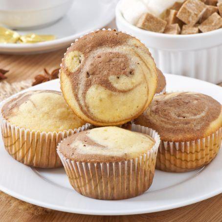 Nutella-Marmor-Muffins! Ein super einfaches Rezept nicht nur für Kinder