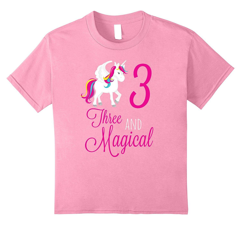Amazon Unicorn 3rd Birthday Shirt