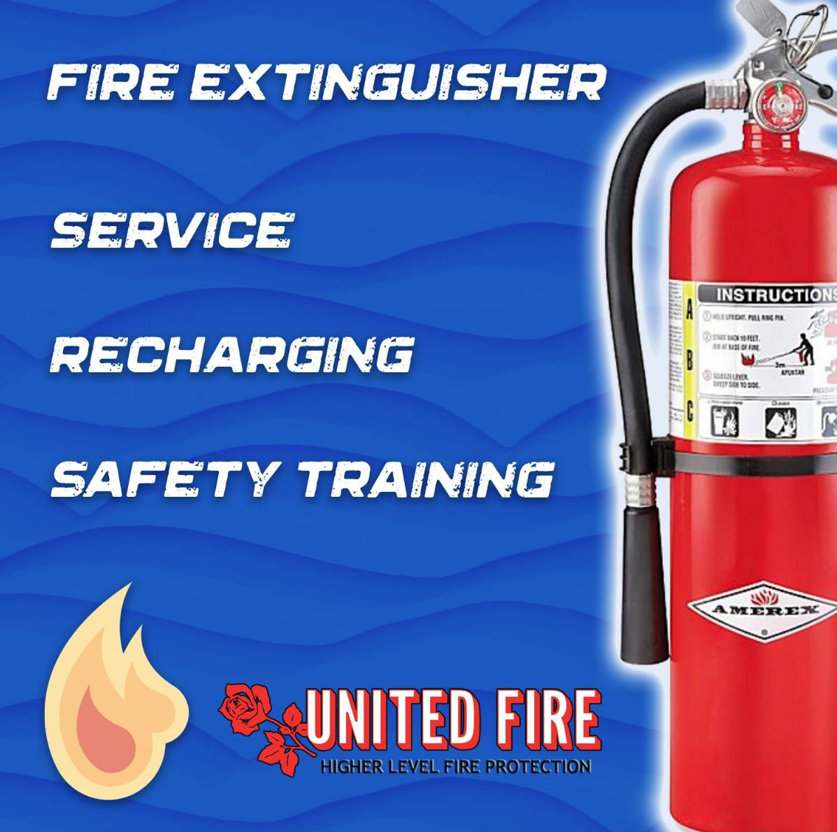 Fore Extinguisher Service Recharging Safety Training In 2020 Feuerloscher
