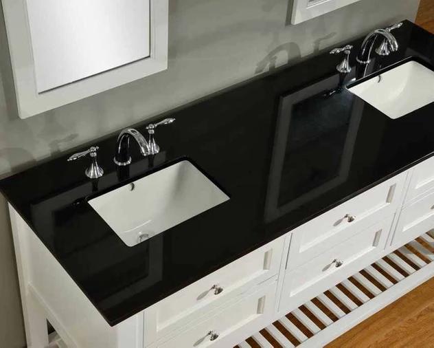 جرانيت اسود دبل بلاك مطابخ جرانيت أنواع وأسعار الجرانيت الأسود Vanity Double Vanity Bathroom Vanity