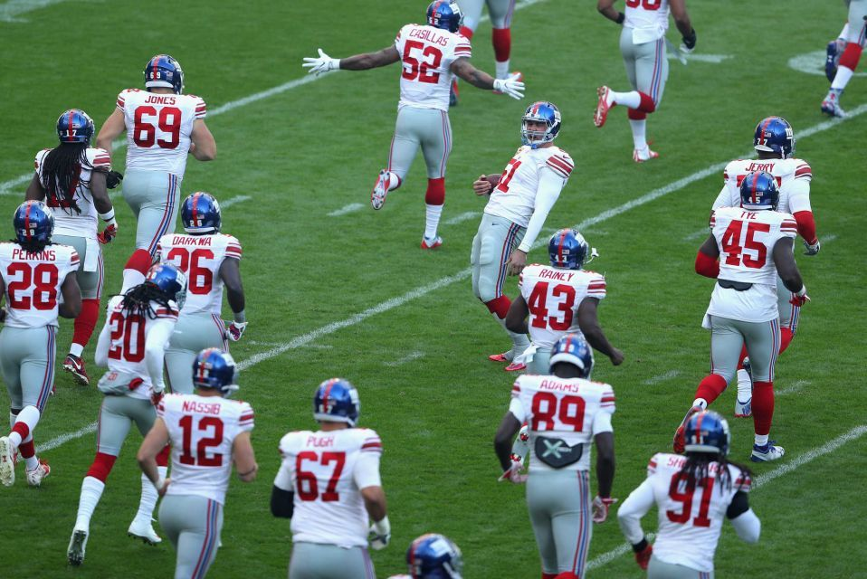 Giants vs. Rams in London (With images) New york giants