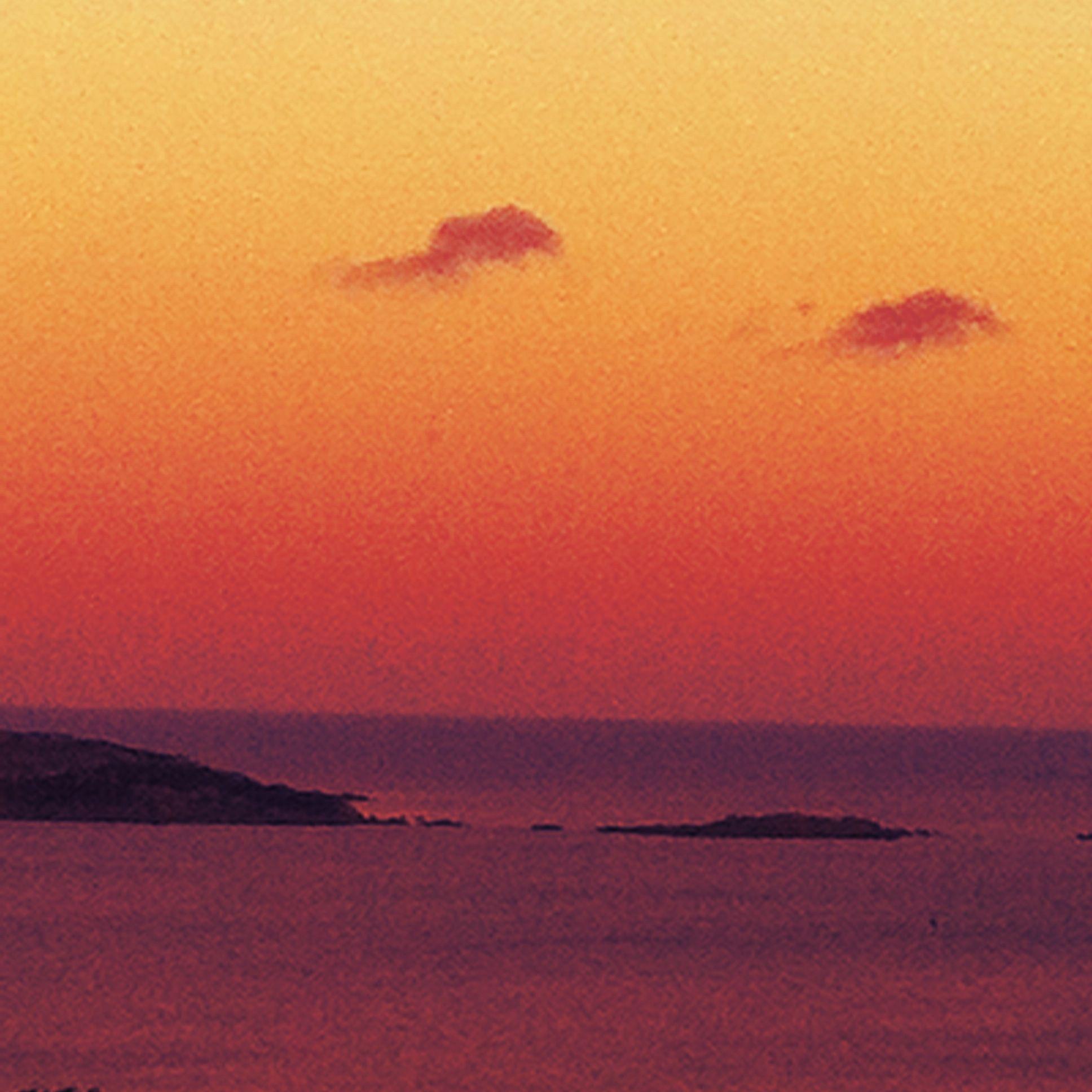 Sardinia in pink....
