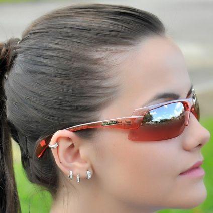 Oculos Mormaii Gamboa Air I Grilamid Pequeno Vermelho Transparente com  Prata Espelhado Unissex af3846ee23