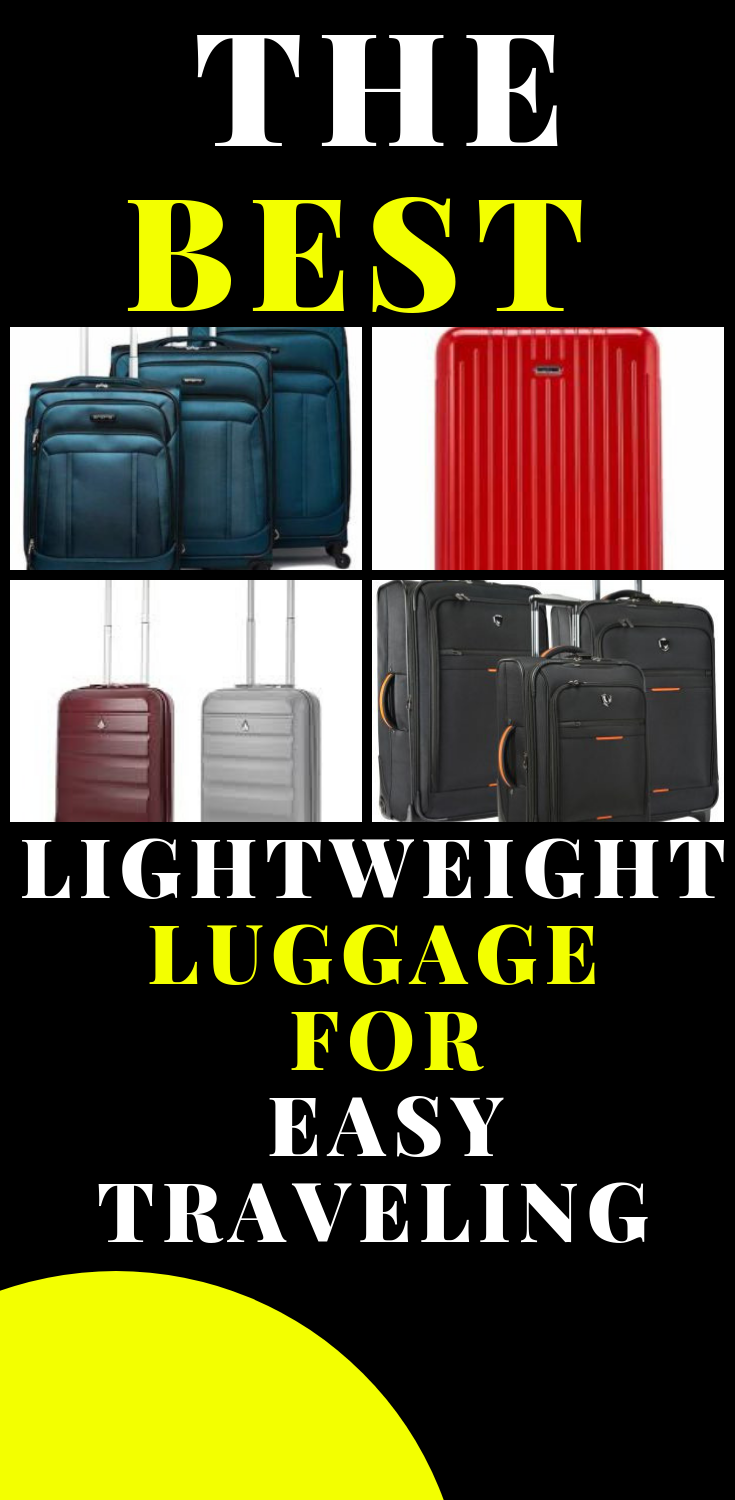 0a33ba53a8d LIGHTWEIGHT LUGGAGE FOR EASY TRAVELING Lightweight Luggage