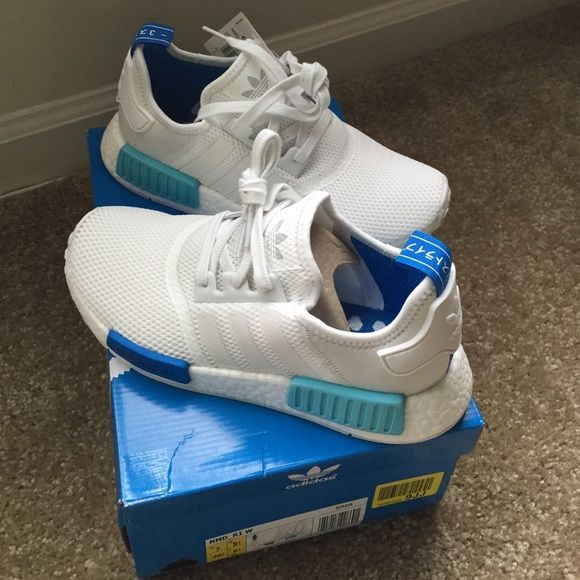 adidas nmd r1 womens Blue