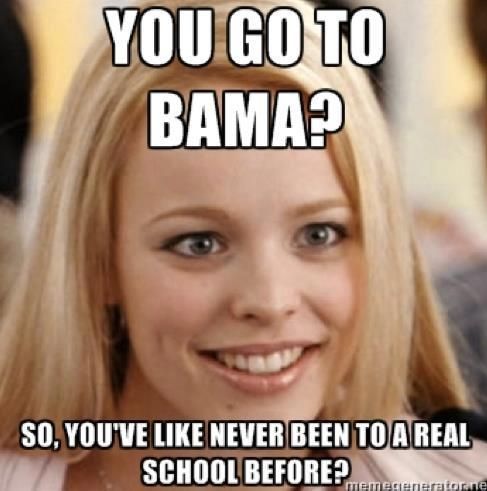 pahahhahaha That's right . Geaux LSU!!