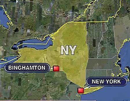 Binghamton NY Map - | Favorite places.Endicott | Pinterest | Ny map