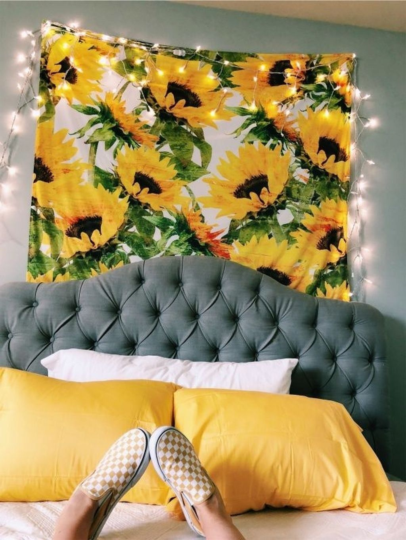 38 Gorgeous Yellow Aesthetic Room Decor | Aesthetic room ...