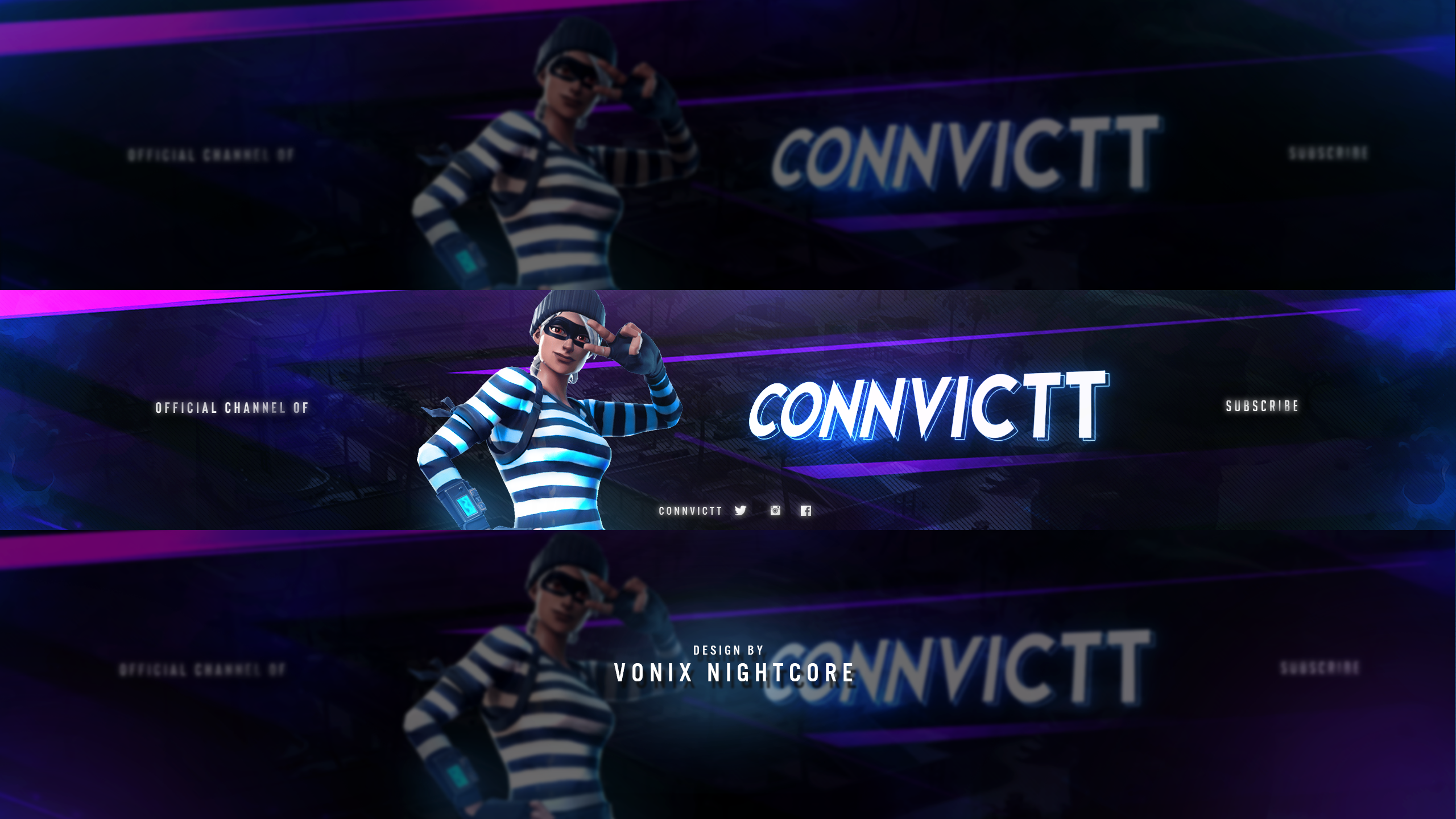 Connvictt Fortnite Banner Youtube Template 12 If You