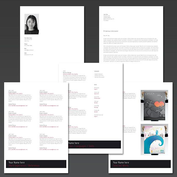 Creating An Elegant Looking Resume With InDesign (via a href=http ...