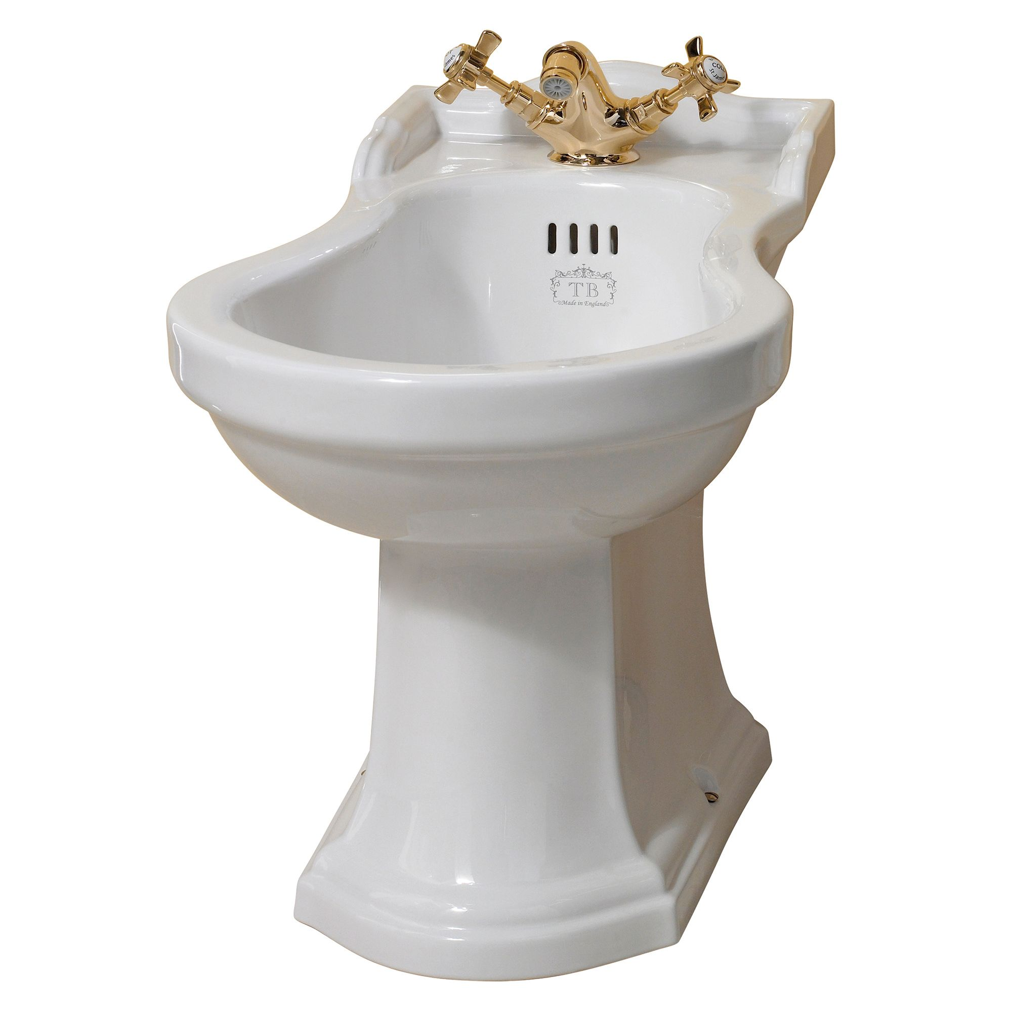 Badezimmer Retro-stil Richmond Bidet Im Retro Stil Traditional Bathrooms Retro