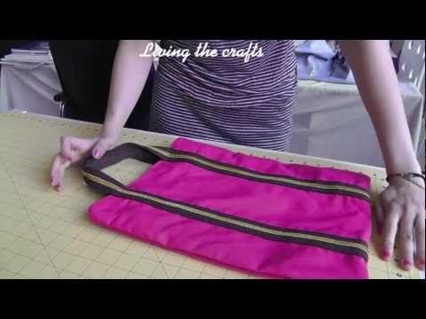 Tutorial de como hacer un Tote bag (Patrones Gratis) - YouTube