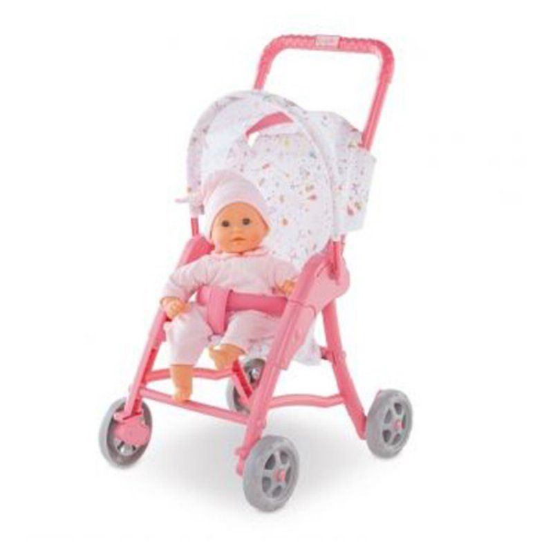 Corolle Mon Premier Stroller 12 In Doll Accessory Dmt41 Baby Dolls Baby Doll Accessories Toddler Girl Gifts