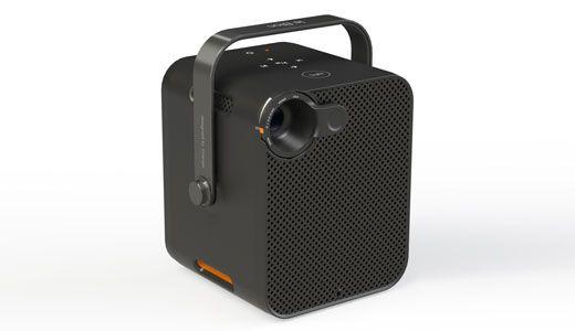 le bloc un pico projecteur doubl d un syst me audio performant connect en wi fi la. Black Bedroom Furniture Sets. Home Design Ideas