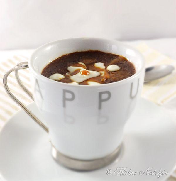 Salted Caramel Mocha - DIY latte drink - kitchennostalgia.com