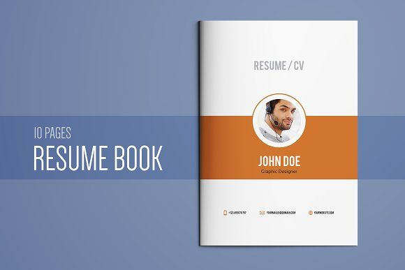 Resume Booklet Template Vol 01 Booklet template, Template and
