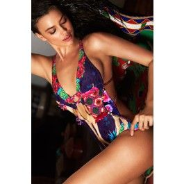 Agua Bendita 2015 'Bendito Camello' One Piece Swimsuit | The Orchid Boutique