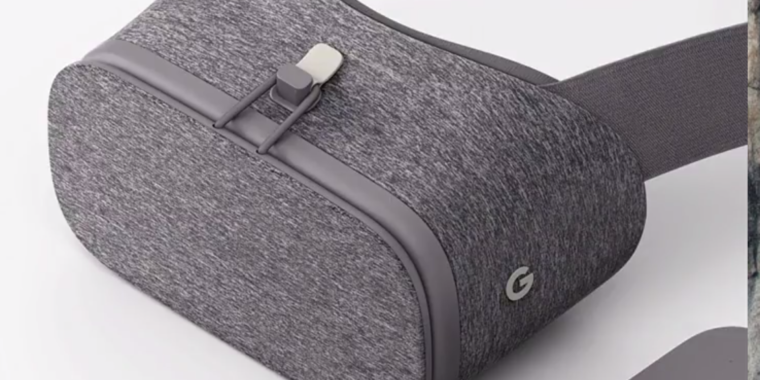 Googles Daydream View VR headset is smartphone-powered VR