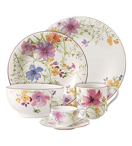 Villeroy Boch Mariefleur Selfridge S ᘡղbᘠ Vajillas Juegos De Te Porcelana Teteras Antiguas