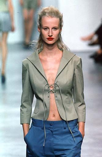 703bf7a53b3 This jacket-- but with a top underneath of course. 90s Fashion
