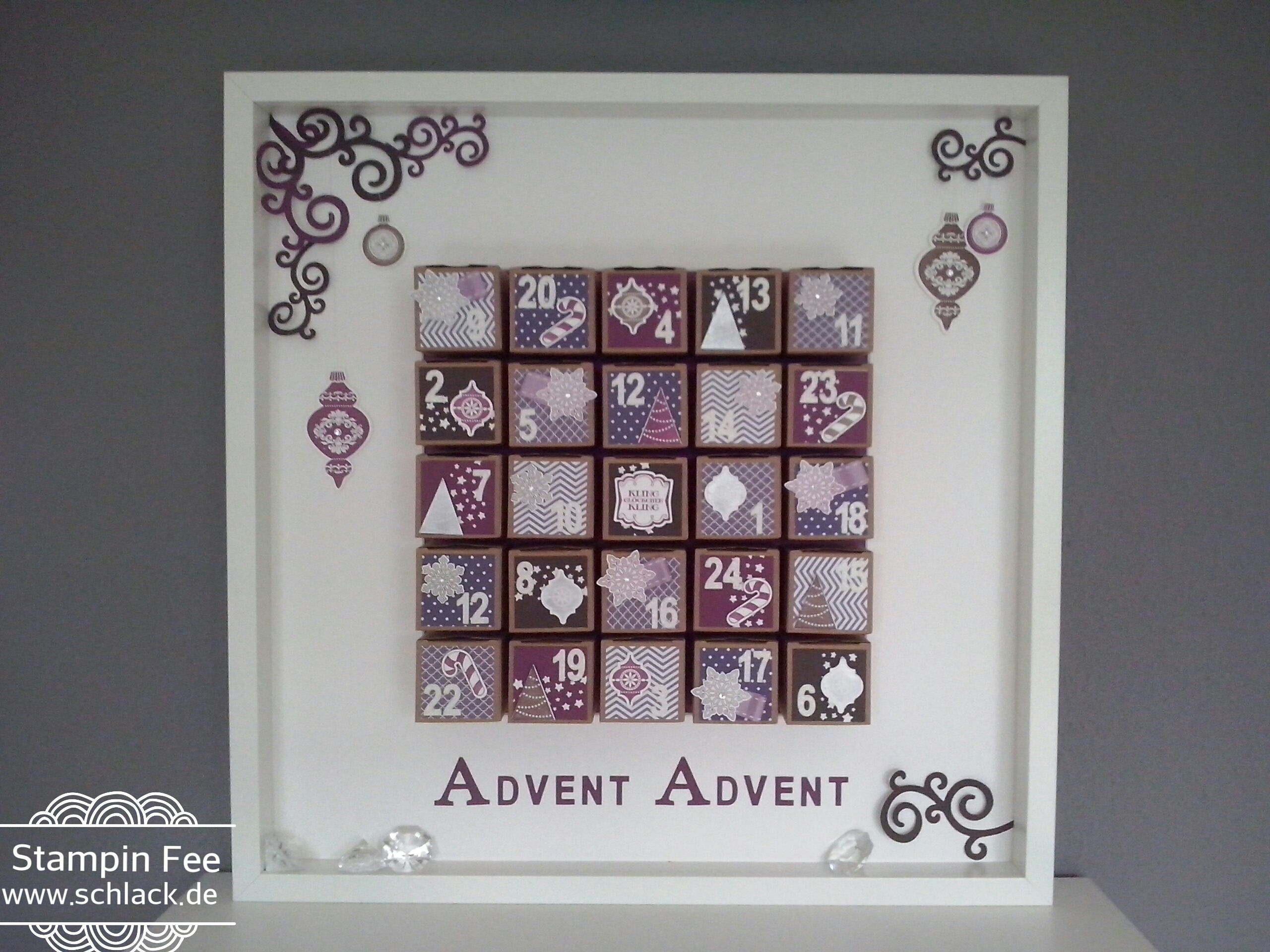 stampin adventscalender christmas tiny treat boxes gift. Black Bedroom Furniture Sets. Home Design Ideas