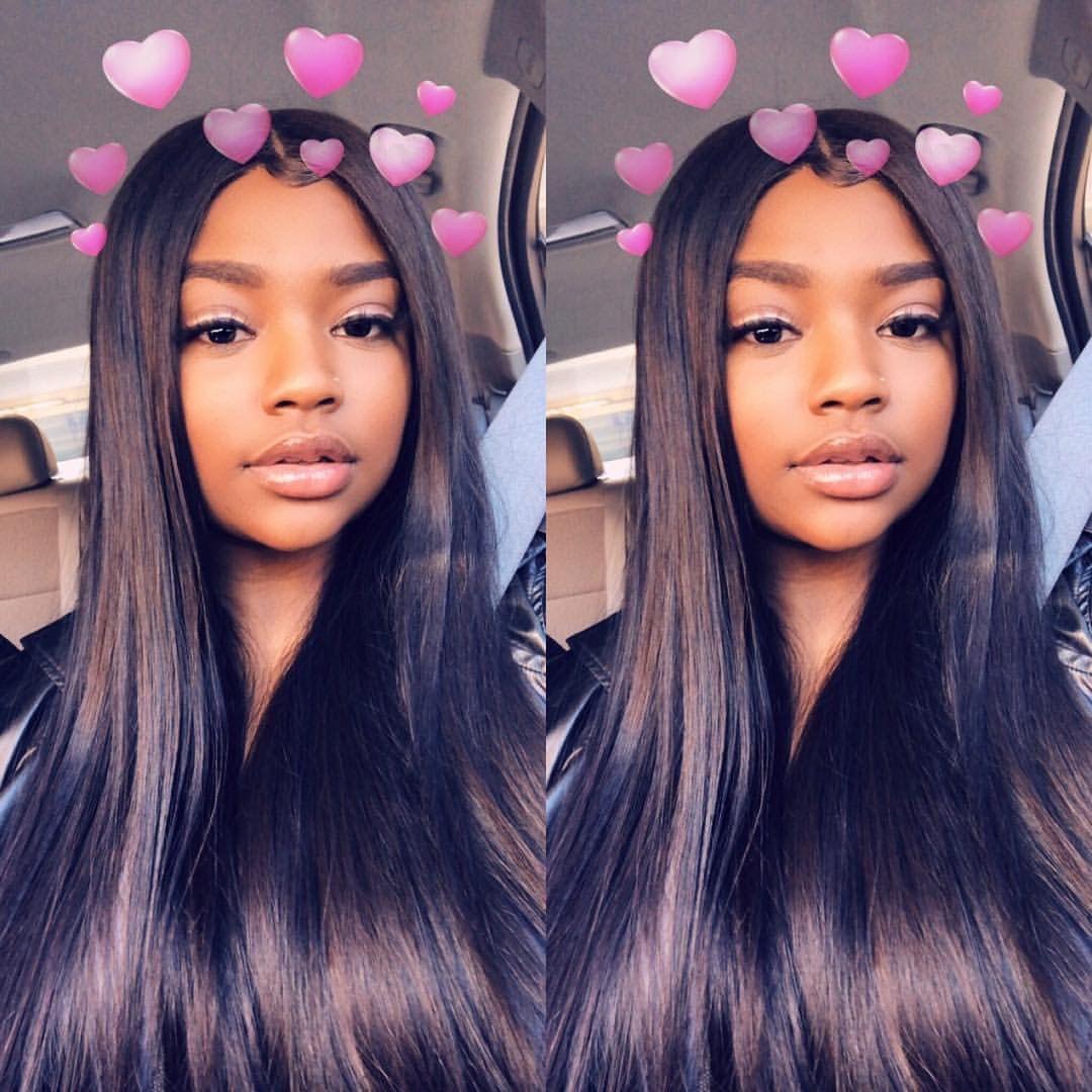 Pin by naysa on black girls hairstyles pinterest baddie black