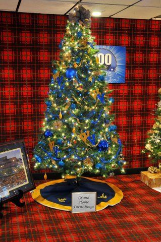 Image Detail For Beckley Grand Home Furnishings WVU Christmas Tree
