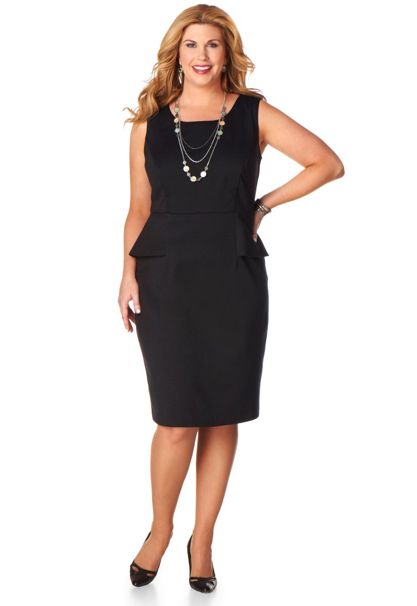 Ponte Dress - CJ Banks | Add | Plus size fashion, Plus size ...