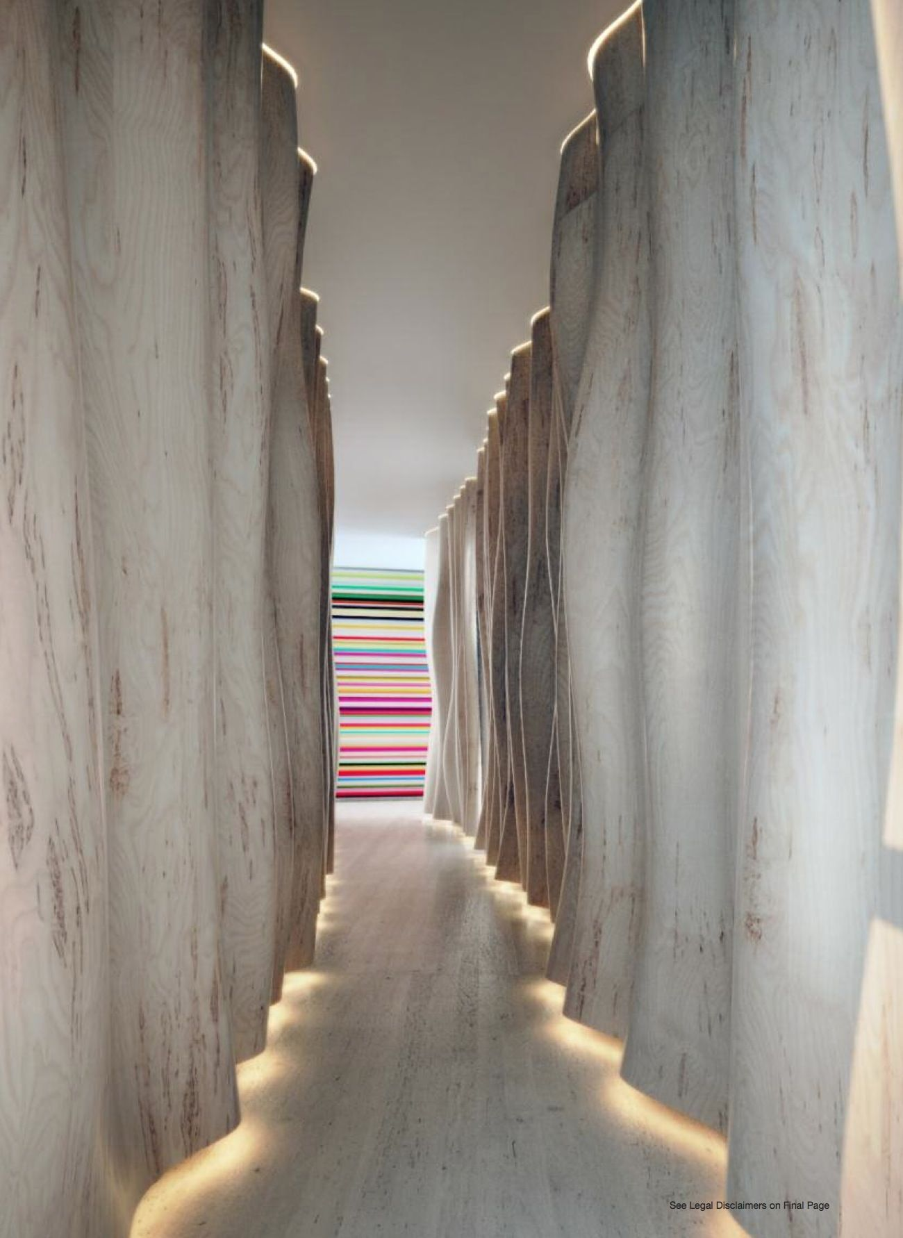 Marea Miami Beach Cool Idea For Lighting A Long Hallway Corridor Design Lobby Design Hotels Design