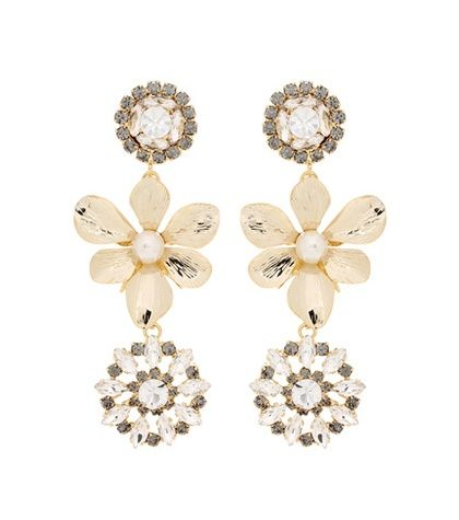 Erdem Crystal-embellished earrings qIui2