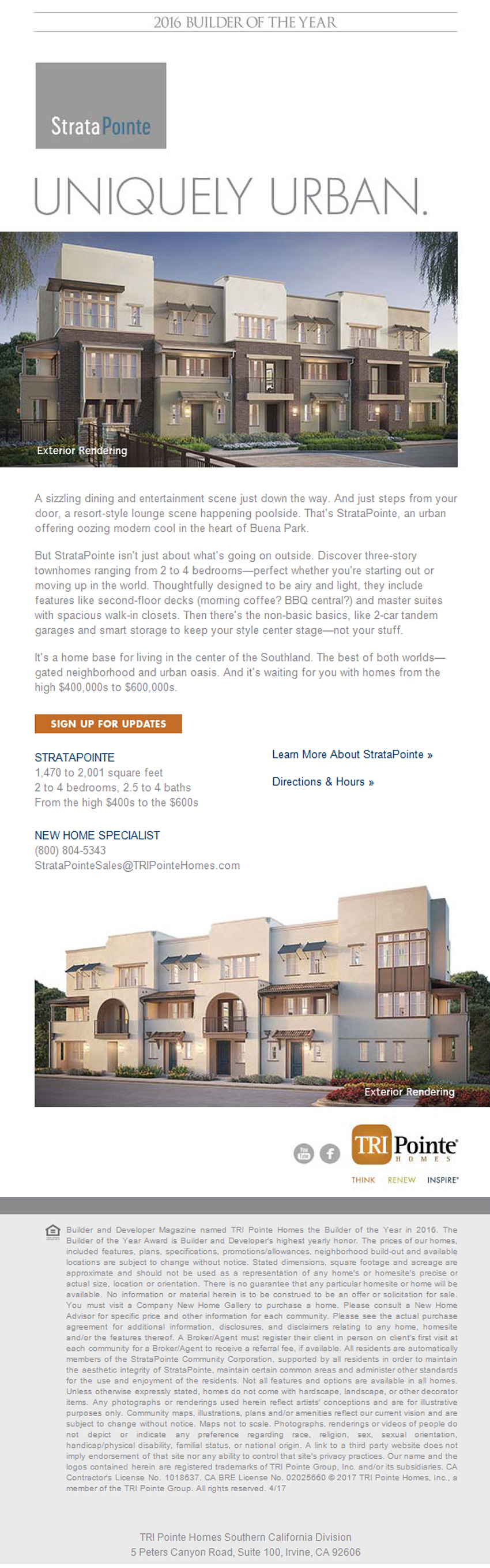 New Homes for Sale in Buena Park California Hey Buena Park Check