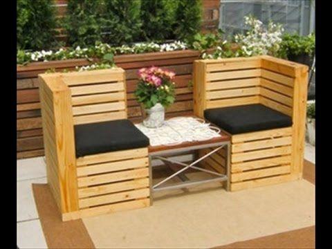 Pallet furniture ideas. Pallet furniture tutorial - YouTube ...
