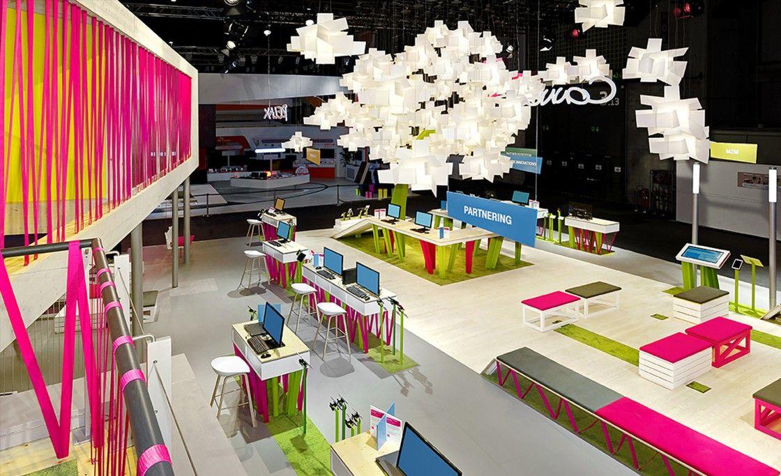Ideas worth spreading. Mutabor Telekom, Messedesign