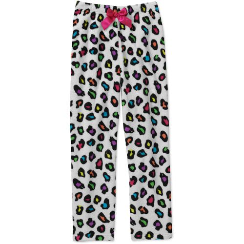 4e1069e0ce 1) Girls  Plush Pajama Pant  Girls   Walmart.com