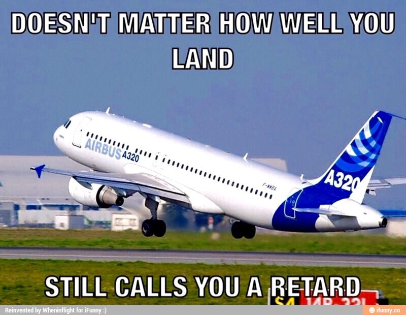 Only people familiar with Airbus' systems and instruments will get this.