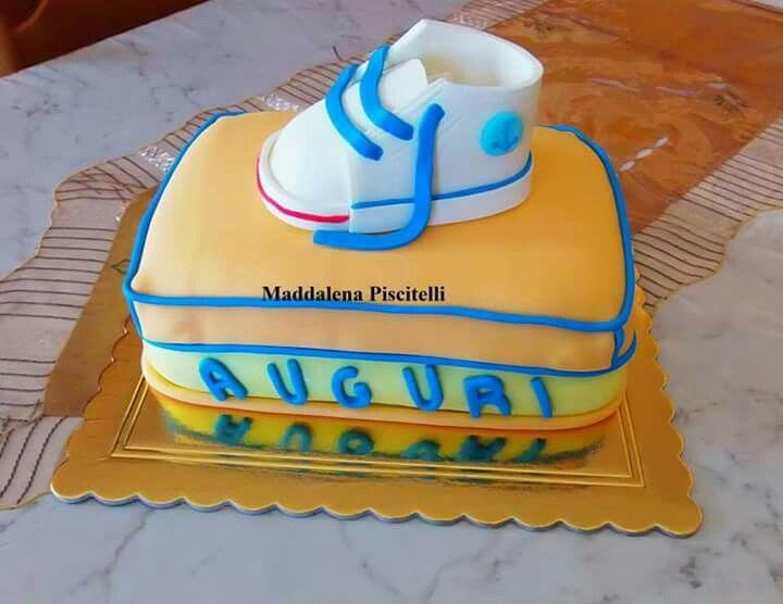 Torta onomastico scarpa