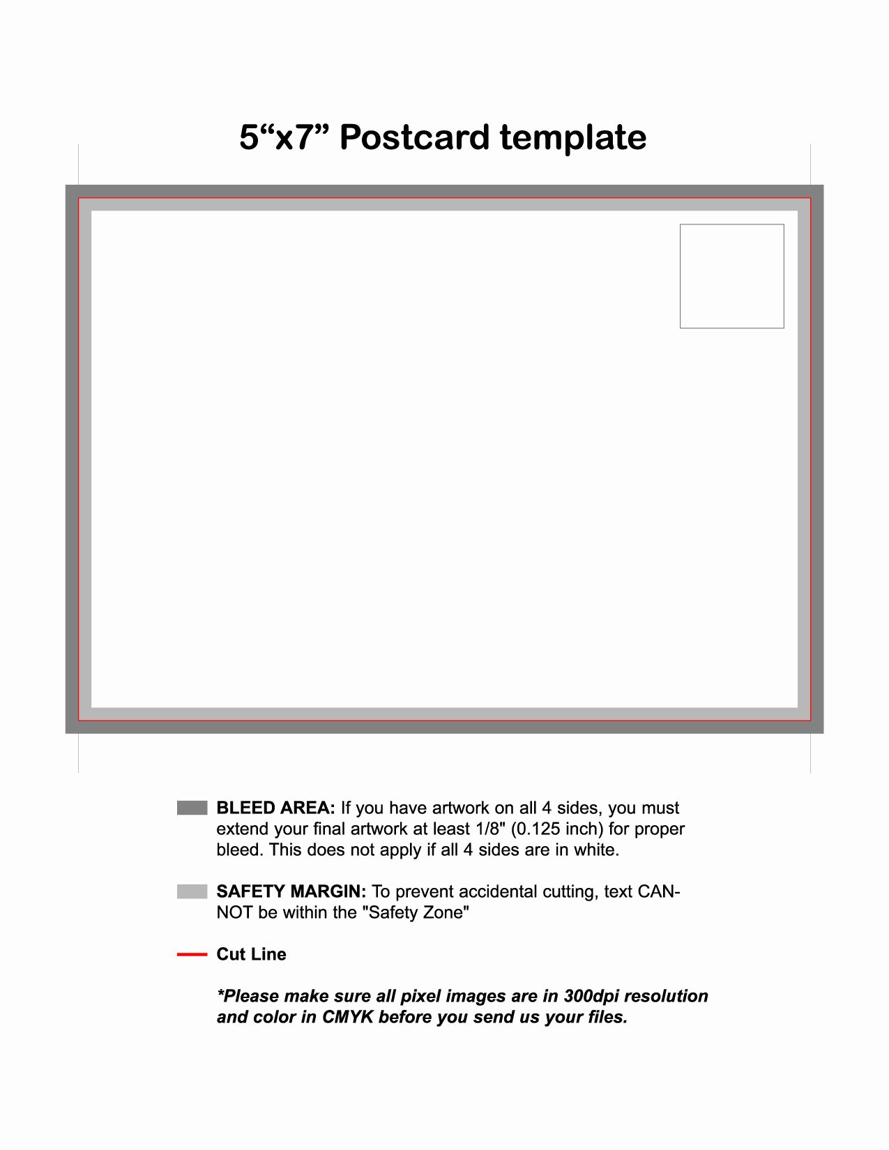 50 Elegant 5 7 Postcard Template For Word In 2020 With Images
