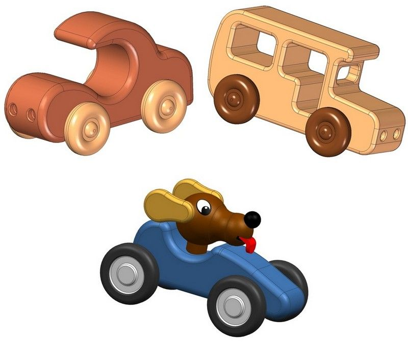 Simple Toy On Wheels Plans Tons Of Free Plans Kids