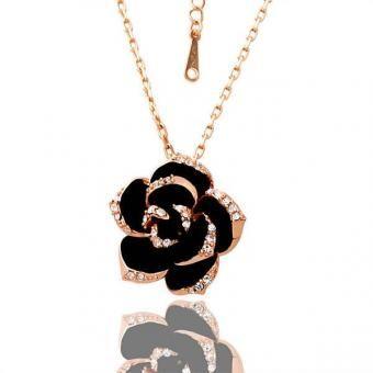 Flower 18 Karat Gold Plated Necklace