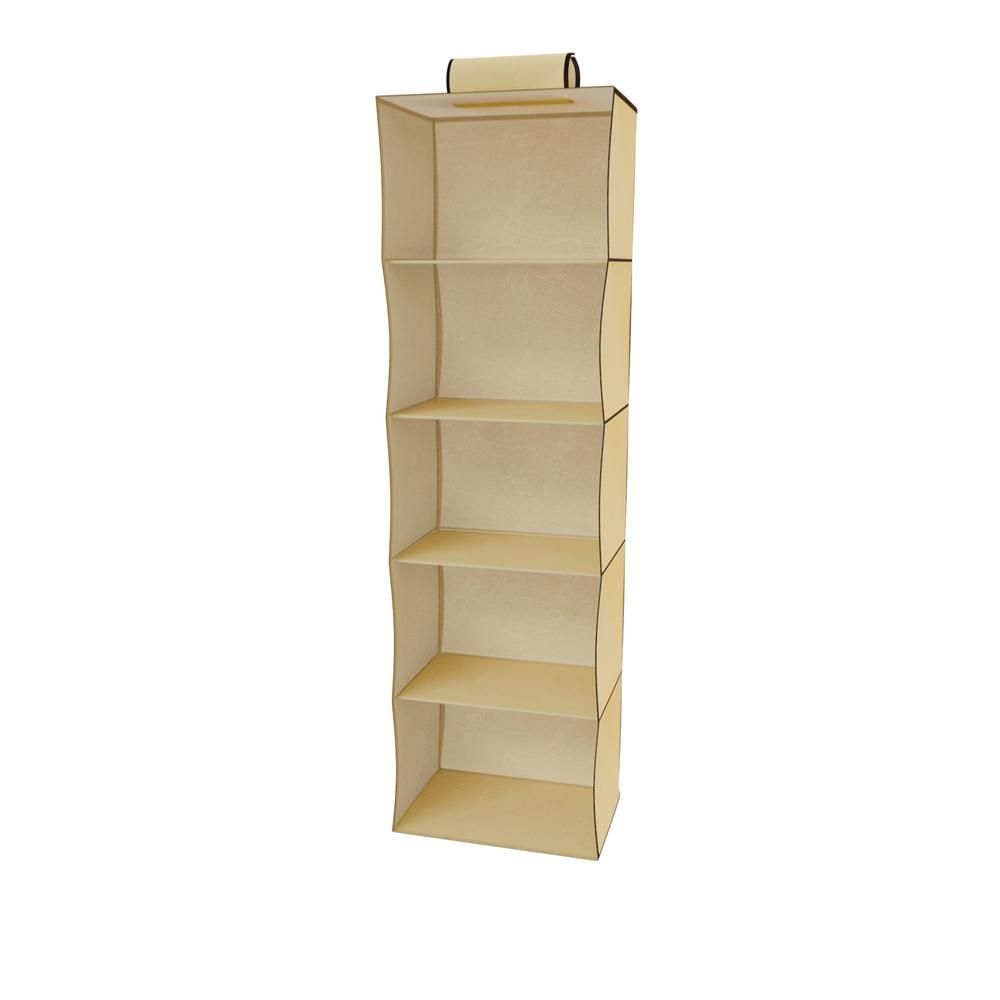 Lavish Home Closet 5 Shelf Storage Organizer Hw0500038 Storage