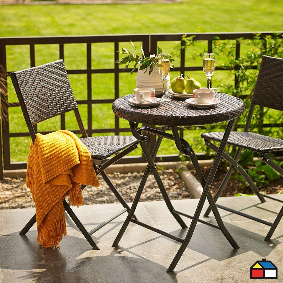 Home terrazas decoracion terraza y balcones for Mesas y sillas de terraza baratas