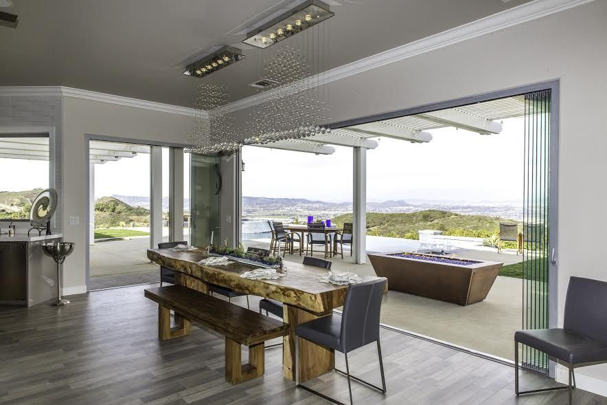 The Premier Frameless Folding Doors Are The Most Weather Tight