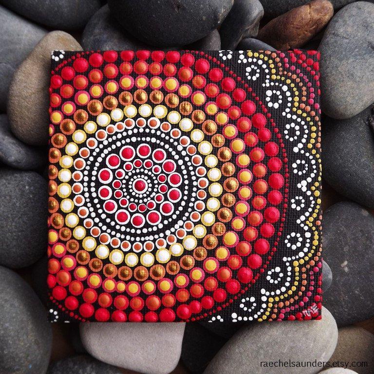 Punto pintura Fire Design Biripi artista por RaechelSaunders
