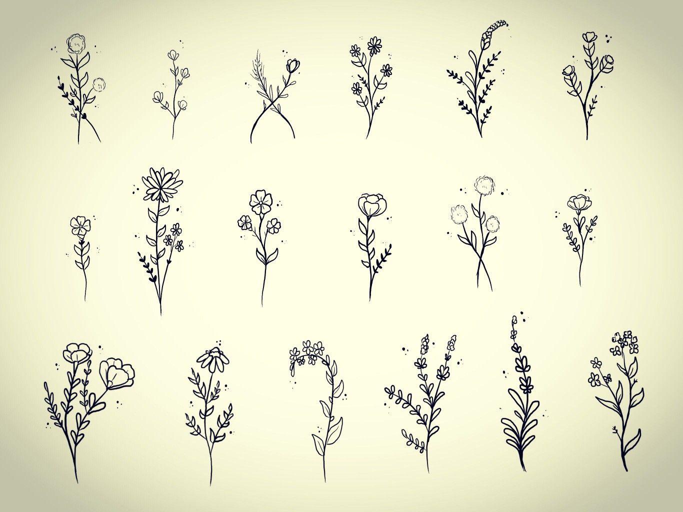 Small Flower Tattoos Tattoo Inspiration Pinterest Small Flower