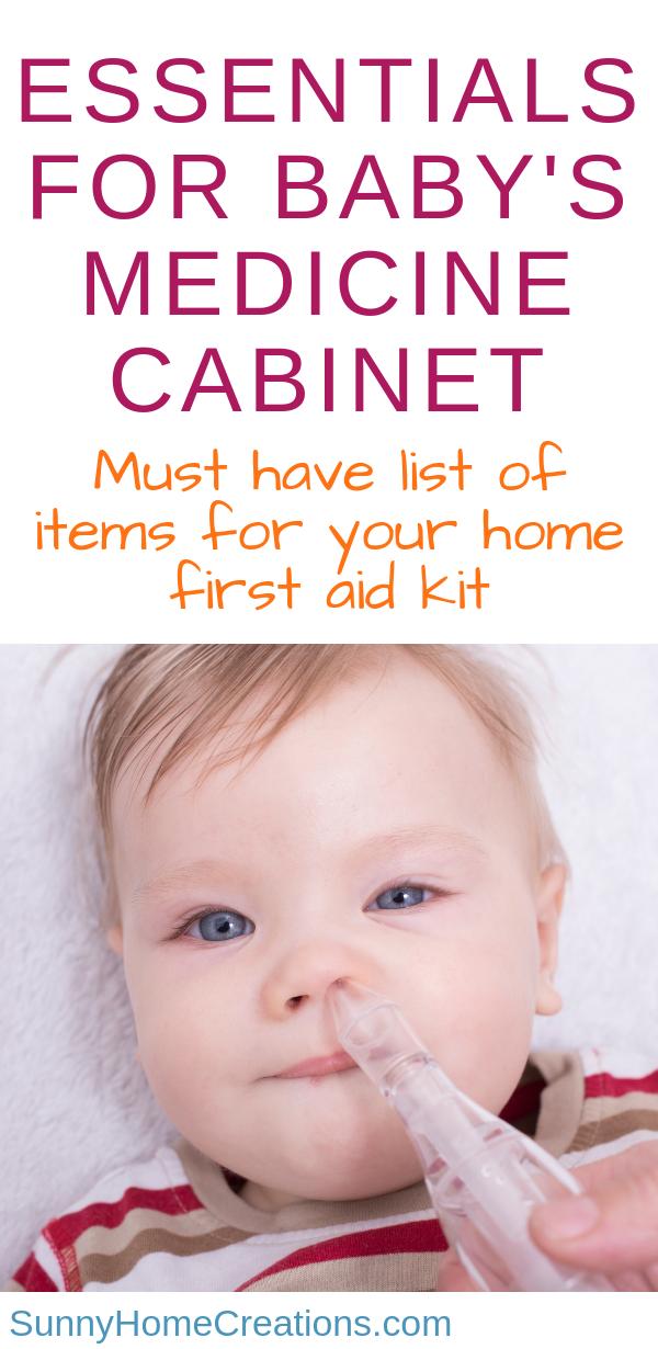 Stocking Baby S Medicine Cabinet Baby Medicine