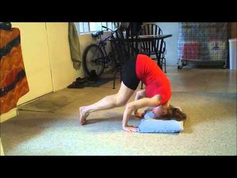 how to do a headstand and headstand up to handstand with
