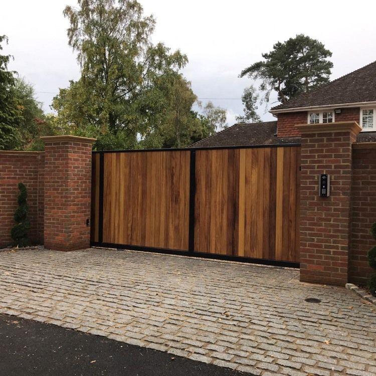 York Sliding Gate Entrance Gates Design House Gate Design Wooden Gates Driveway